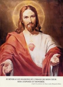 Sacré coeur de Jésus- je bénirai les maisons