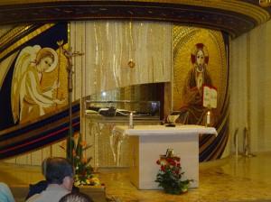 Crypte St Pio sept 2013
