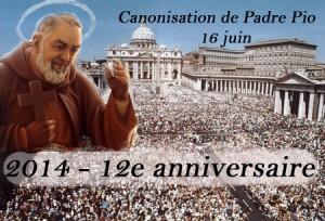 Place St Pierre Canonisation P Pio 12e anniversaire copie